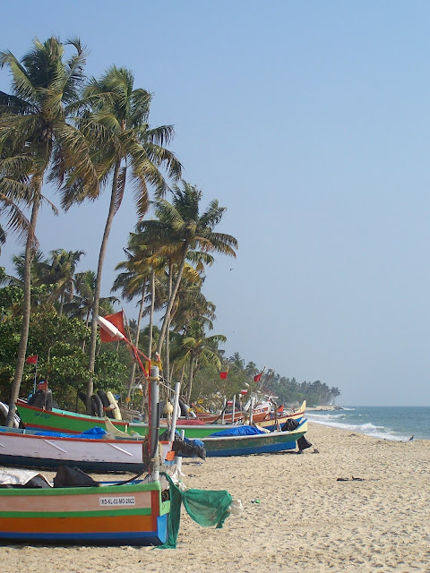 Côte près de Marari Beach