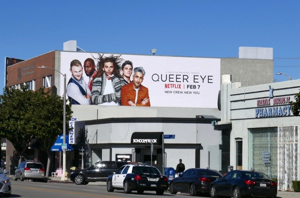 Queer Eye Netflix season 1 billboard