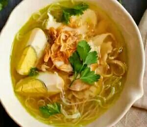 resep praktis membuat soto ayam Madura