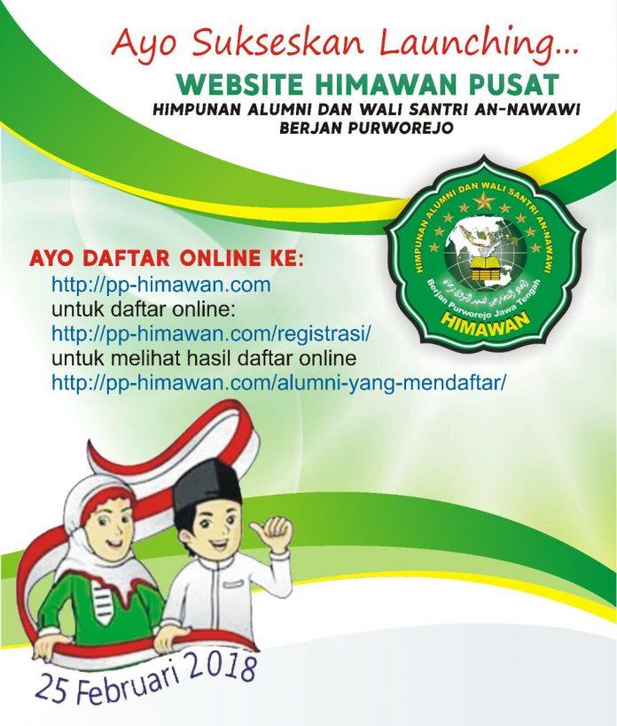 Sukseskan Launching Website HIMAWAN PUSAT