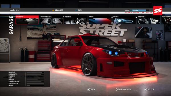 لعبة السباقات Super Street The Game