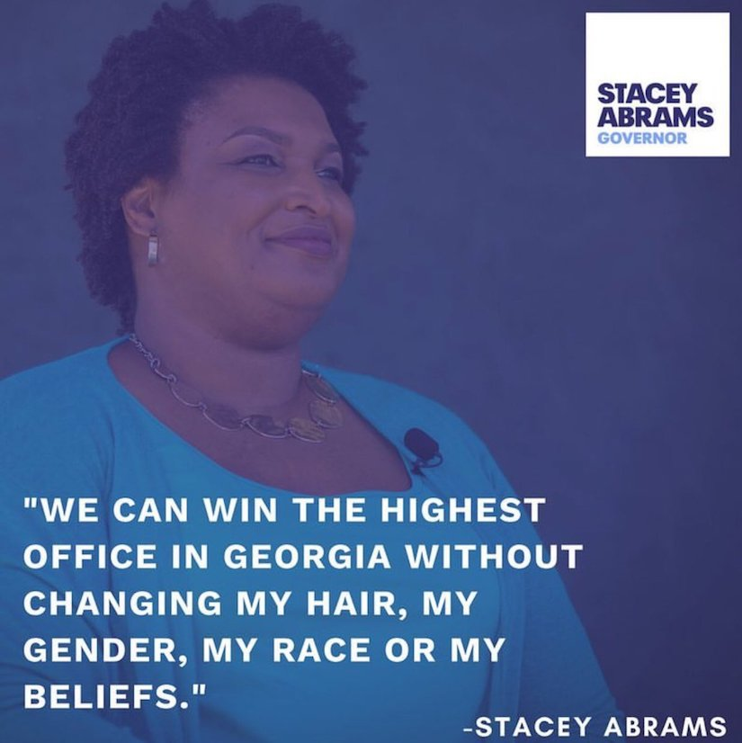 """We can win the highest office in Georgia"" Stacey Abrams Georgia Gubernatorial Campaign"