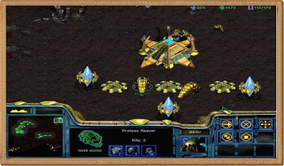Starcraft 1 PC Games Gameplay