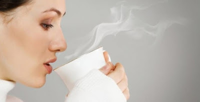 Drinking Hot Water