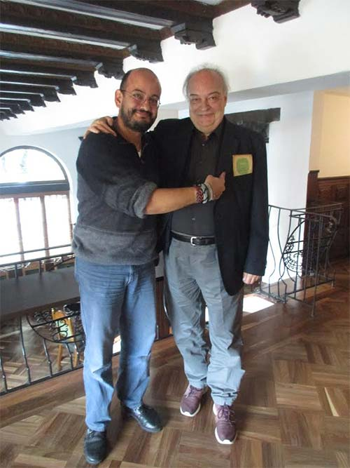 Álvaro Castillo Granada y Enrique Vila-Matas