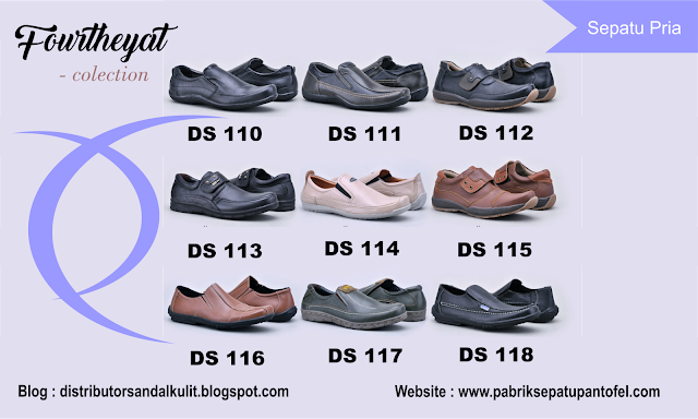 Katalog Jual Grosir Sepatu Kulit