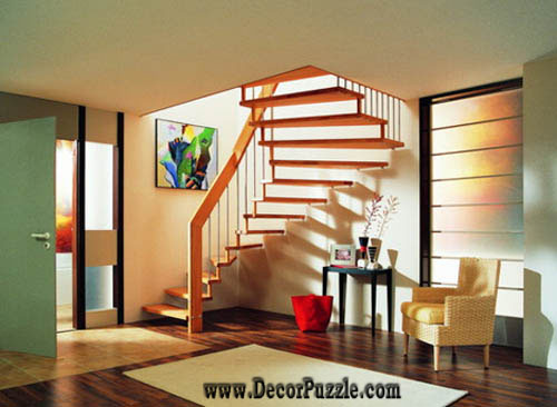 Latest modern stairs designs ideas catalog 2018 for Interior staircase designs