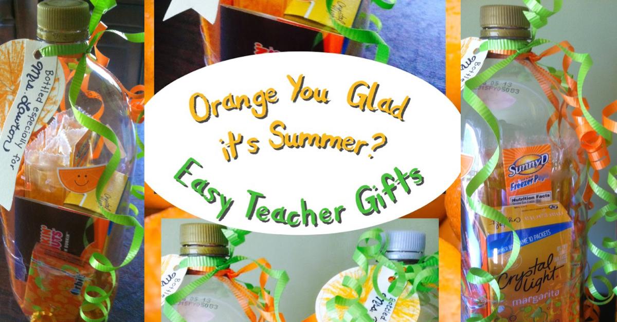 Fun In The Sun End Of Year Teacher Gift Skip To My Lou