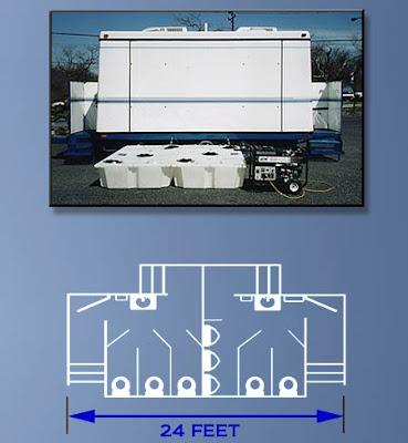 Restroom Trailers NY: The Restroom Station Floor Plan