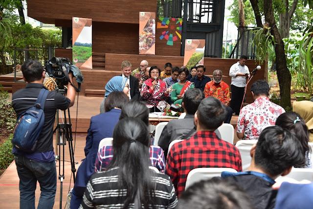 Menteri LHK Indonesia dan Kongo Tekankan Pentingnya Media
