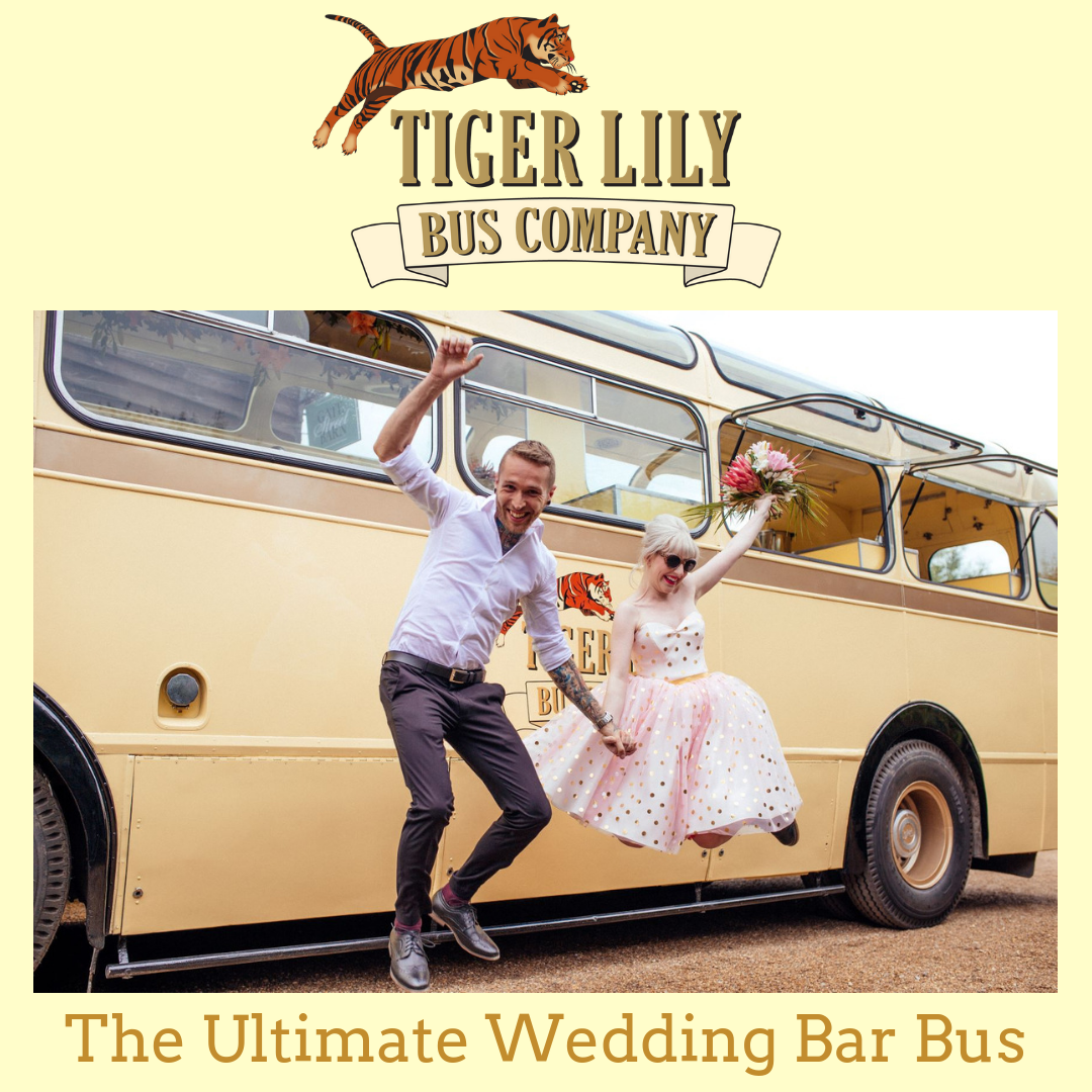 Tiger Lily Wedding Bus Bar