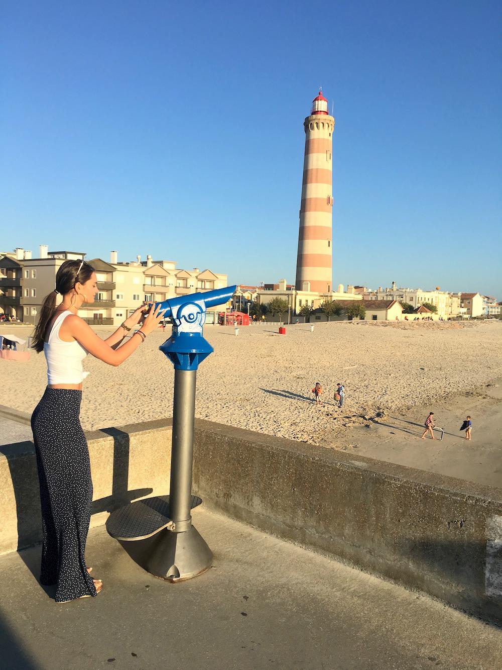 praia da barra aveiro portugal summer