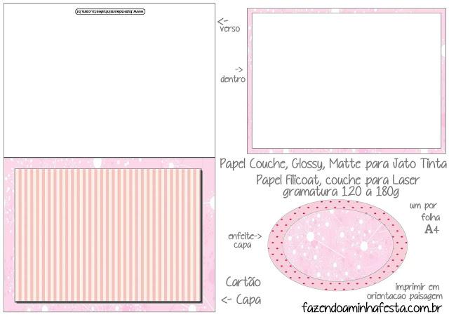 Arte en Rosa: Etiquetas para Candy Bar de 15 años para Imprimir Gratis