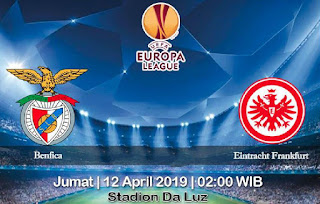 Prediksi Benfica vs Eintracht Frankfurt 12 April 2019