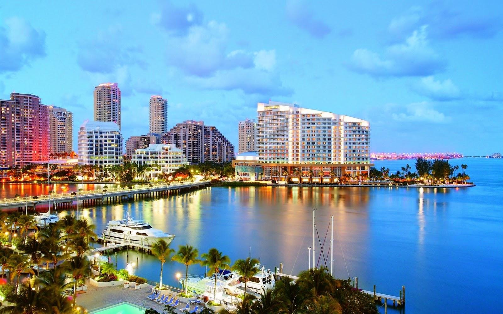 Papel de parede de Downtown Miami
