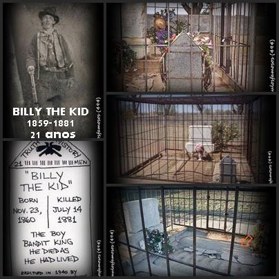 TUMULOS FAMOSOS: BILLY THE KID - Arte Tumular - 494 - Old Fort