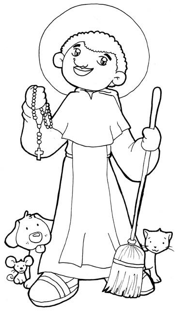ReliArtes: San Martín de Porres (Dibujo)