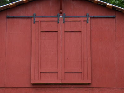 5 Acres A Dream Hay Loft Doors With Barn Quilt