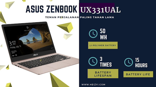 Review Harga Spesifikasi ASUS Zenbook UX331UAL