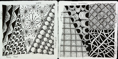 the joy of my life zentangle  simple asanas for the brain