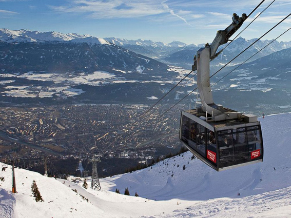 Teleferico de Innsbruck a Nordkette