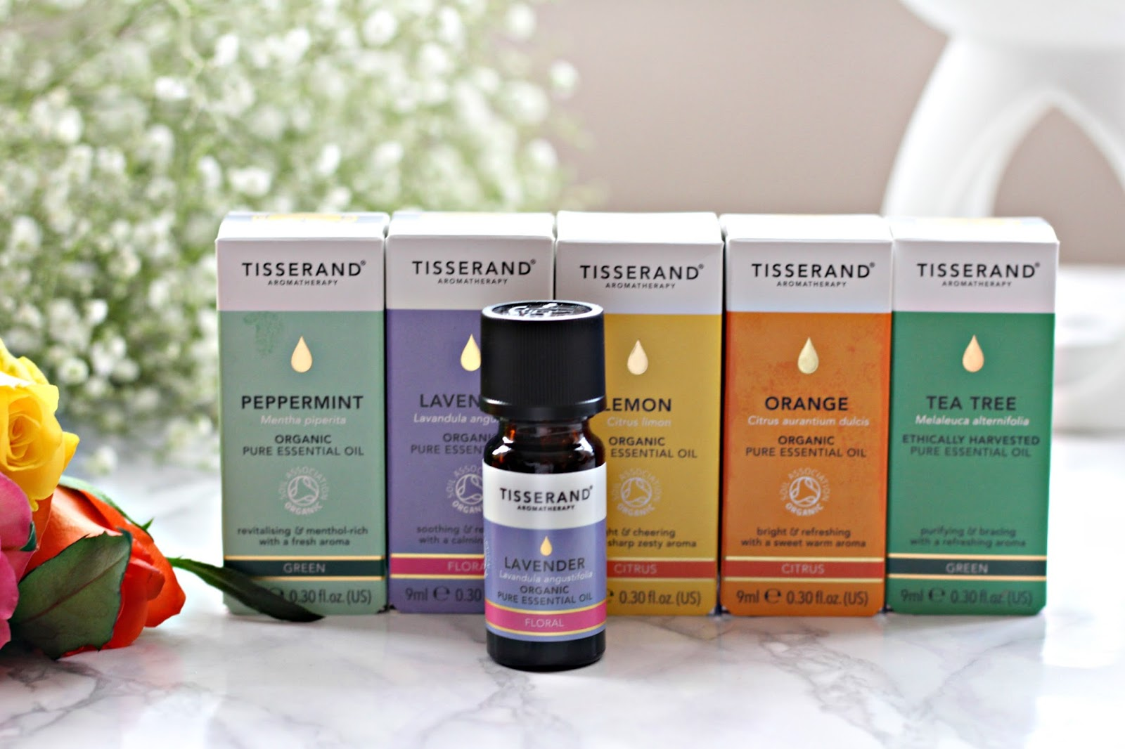 New in: Tisserand Essential oils
