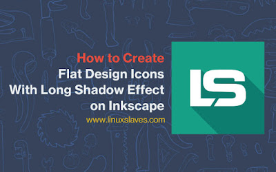 Create Flat Design Icons With Long Shadow Effect on Inkscape