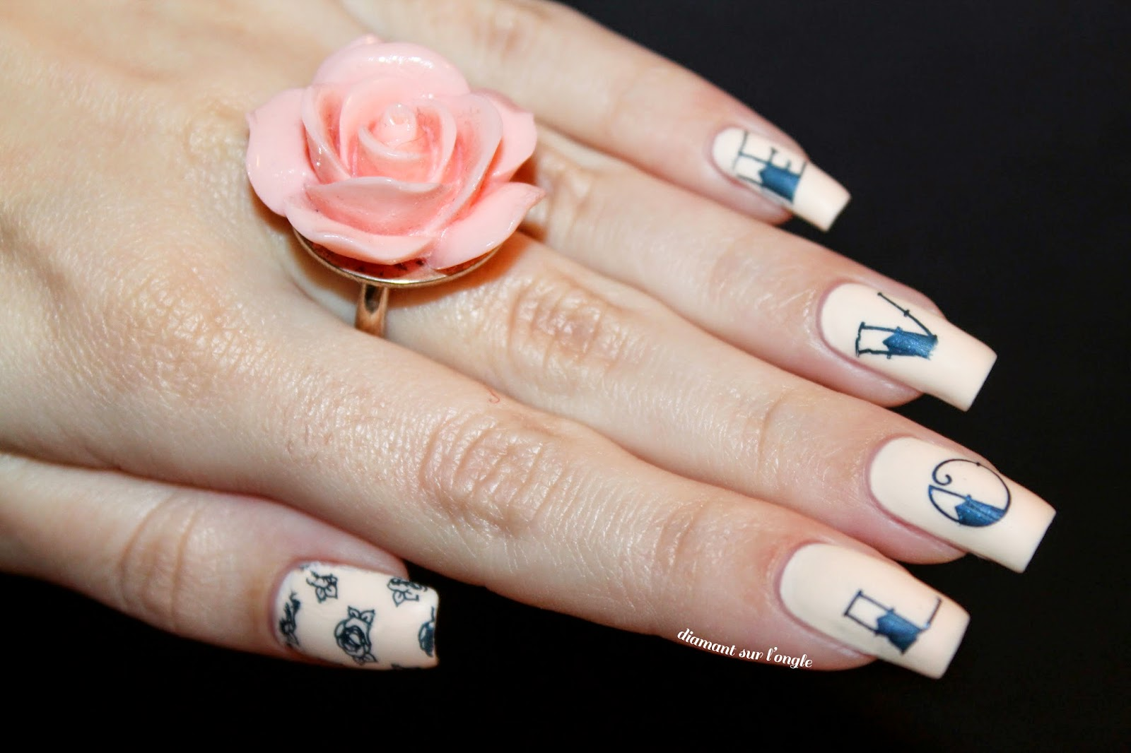 Tattoo // Ink inspired nail art