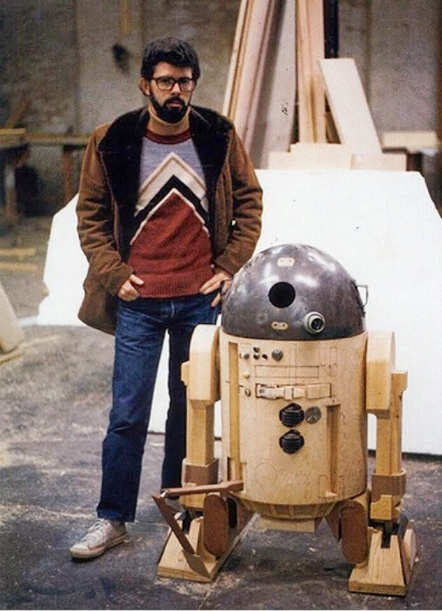 early prototype of R2D2