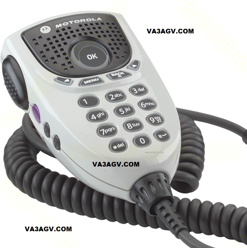 Motorola RMN5127  IMPRES 4-Way Navigation Keypad Microphone with Enhanced Audio