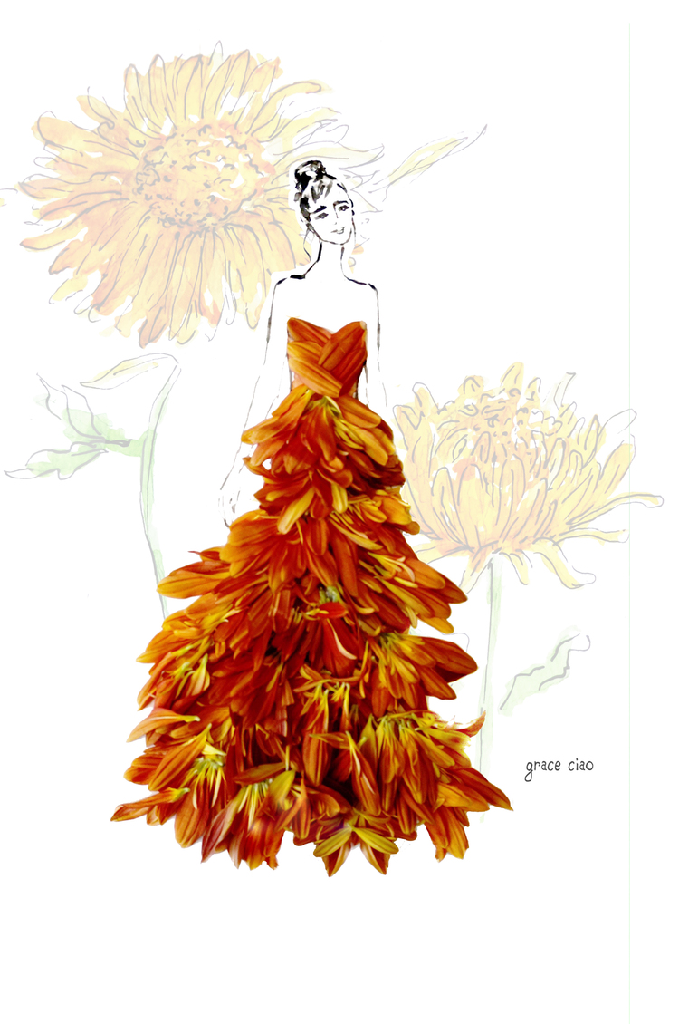07-Fall-Maxi-Dress-Nature-and-Grace-Ciao-Design-and-Draw-Dresses-with-Petals-www-designstack-co