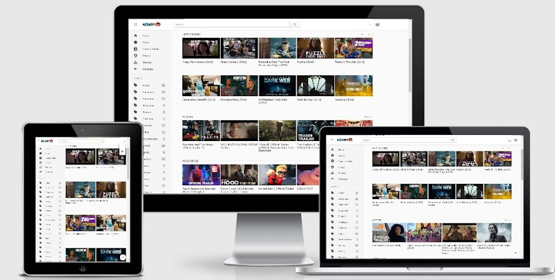 Kompi Tube Blogger Template For Youtuber and Review