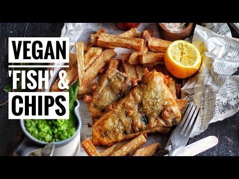 Vegetarian 'Fish' & Chips