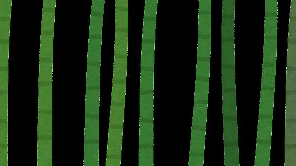 竹やぶのイラスト(背景素材・レイヤー1)