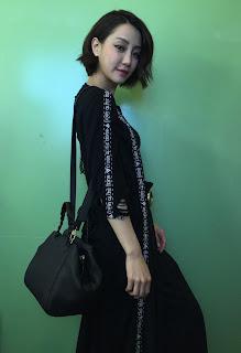 中國超模劉雯、路嘉怡、謝欣穎分別演繹出Halfmoon鑽石包獨特魅力。