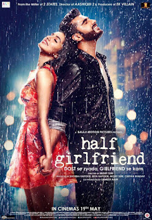 Half Girlfriend 2017 Hindi Movie 190Mb hevc HDRip