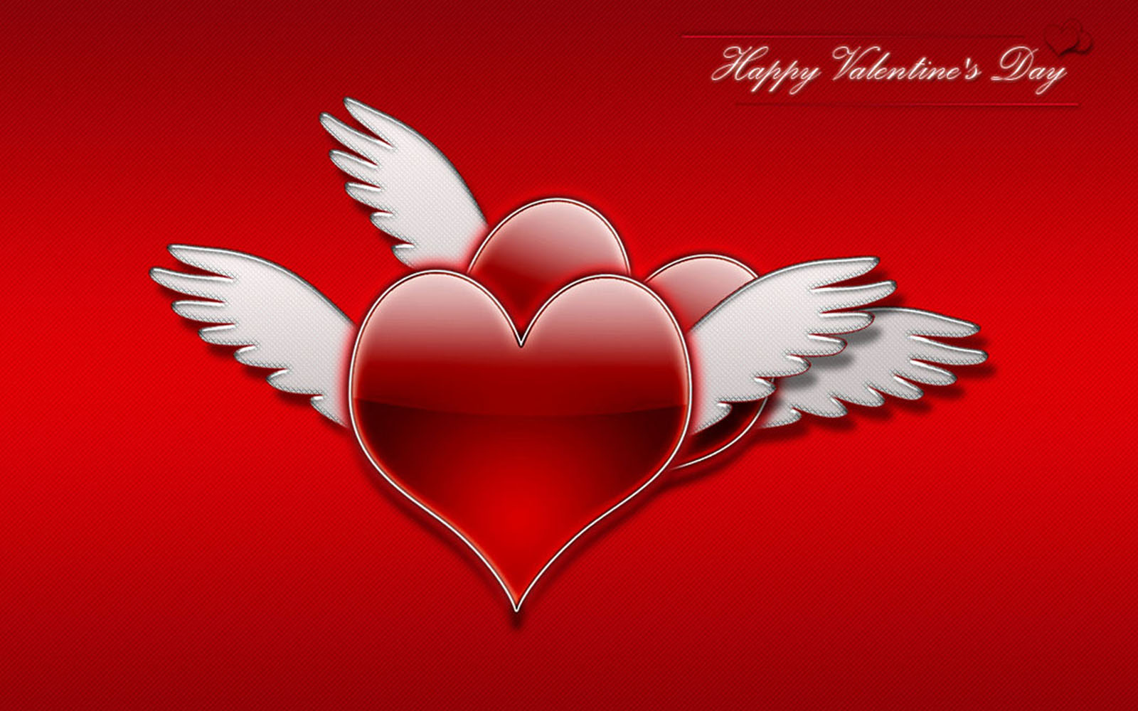 wallpapers: Flying Hearts Wallpapers