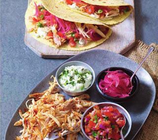 pulled chicken tacos recipe