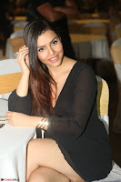 Kyra Dutta in black At Rogue Movie Audio Launch ~  082.JPG