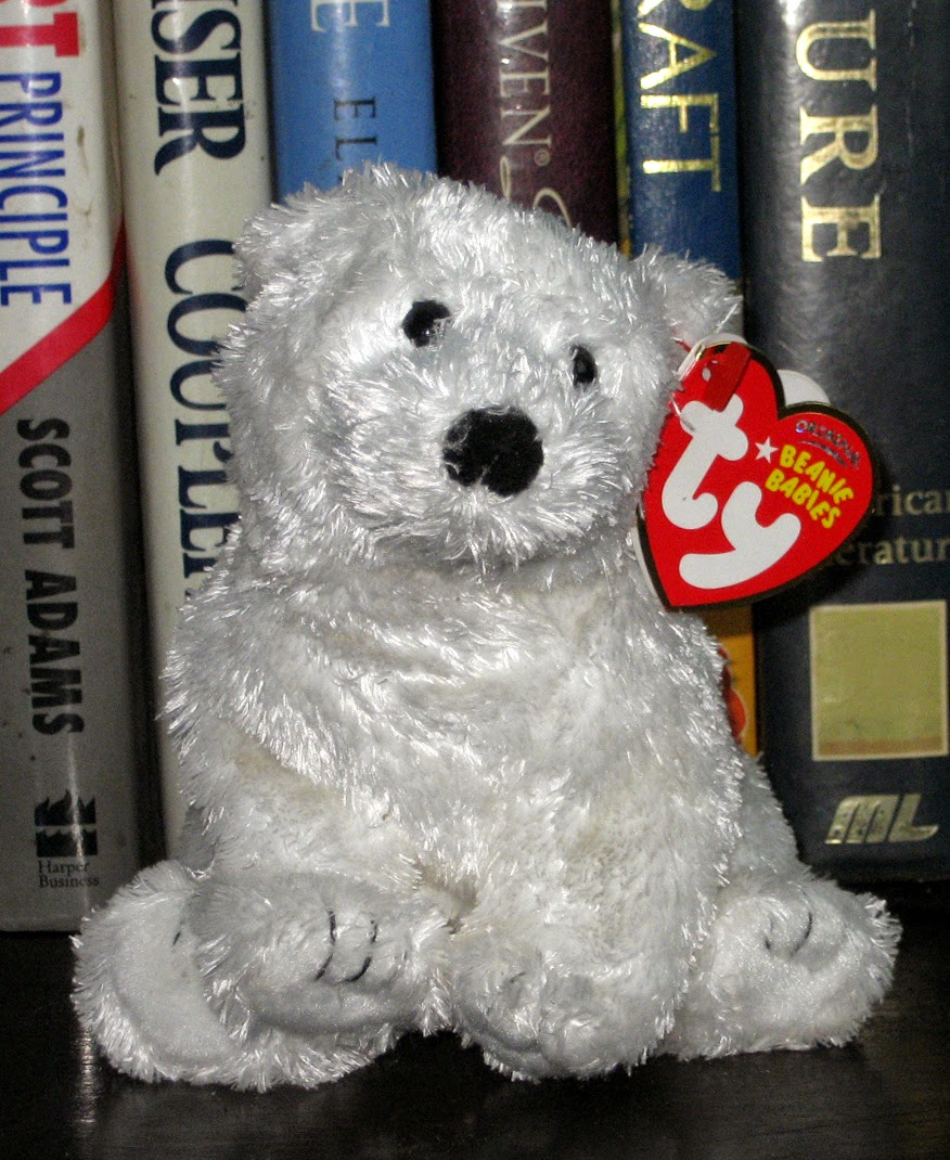 dfbc4657908 Percy s TY Beanie Babies   Siberia the Bear - The Golden Compass ...