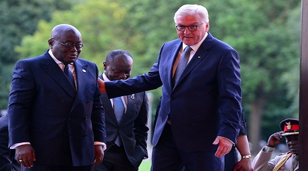 Ghana is pride of Africa – German President