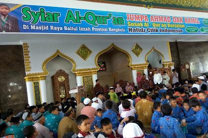 Syiar Al Quran Jumpa Ahmad dan Kamil di Provinsi Bengkulu