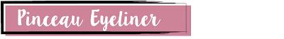 Pinceau Eyeliner backstage brushes Dior