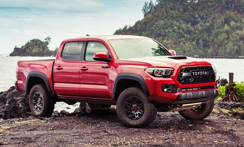 2018 Toyota Tacoma Car Mpg