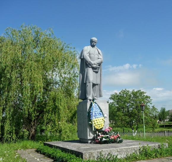 Подорожі селами України. Лисятичі. Пам'ятник Шевченку