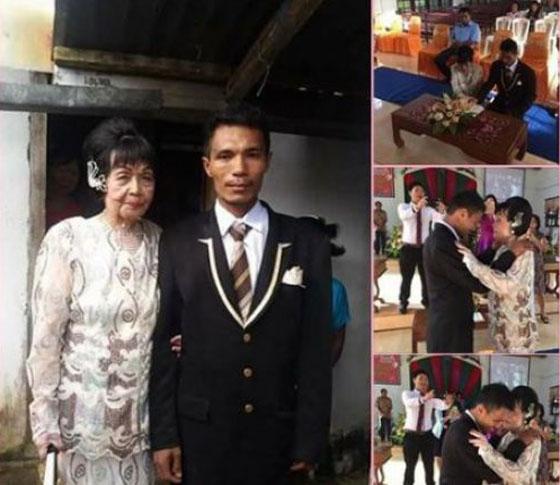 Pernikahan Nenek Usia 82 Nikahi Pemuda 28 Tahun Bikin Heboh Manado