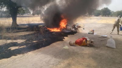211 Civilians Rescued, Military Wipes Out Boko Haram In Northern Borno 2