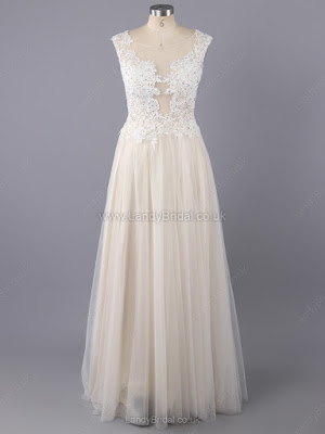 http://www.landybridal.co.uk/princess-satin-tulle-scoop-neck-floor-length-appliques-lace-prom-dresses-84.html