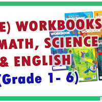 FREE Workbooks for Math, Science and English for Grade 1-6