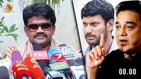 """""""Vishal, support Kamal personally don' say Nadigar Sangam will stand behind"""" : J K Ritheesh, Kamal"""